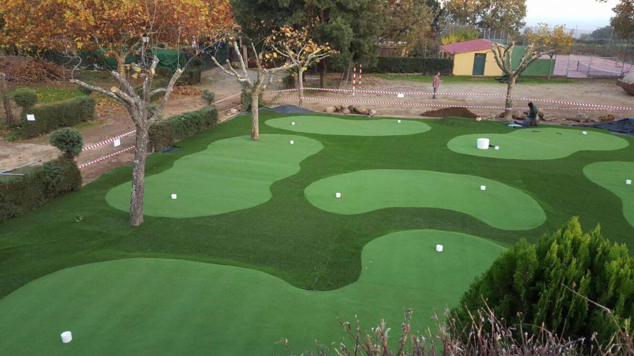 Empresa para construcción de campos de golf