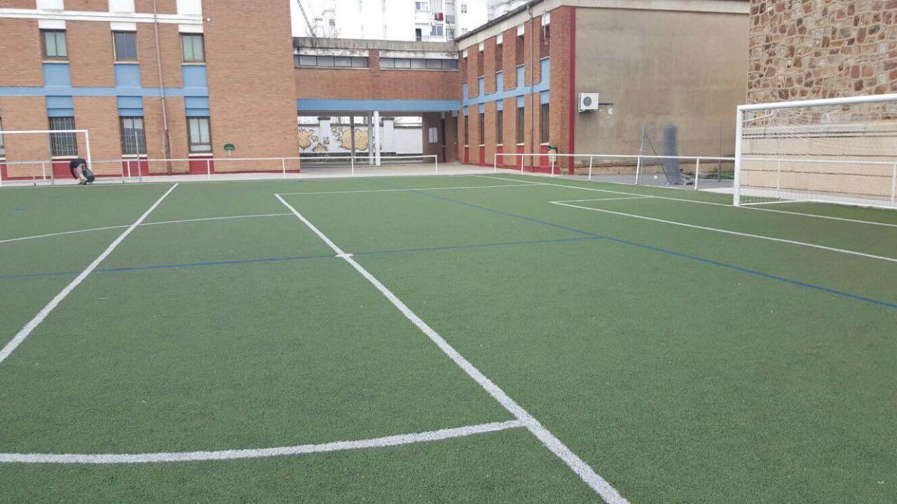 Campo de fútbol del Colegio Diocesano