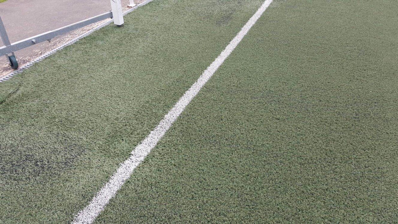 Campo de fútbol del Colegio Diocesano en Cáceres