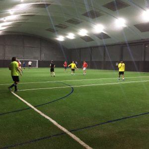 Campo de fútbol indoor