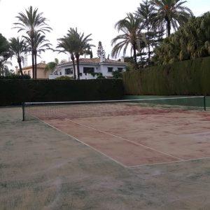 empresa de construcción de cancha de tenis