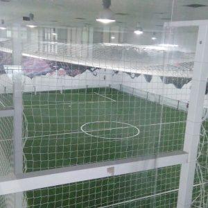 Construcción de campo de fútbol de césped artificial