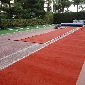 Empresa de construcción de pistas de tenis