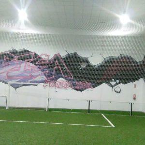 Cancha de fútbol de césped artificial