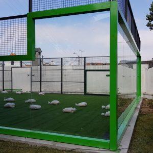 Pistas de Pádel en Rueda, instalación de pista de pádel de césped artificial