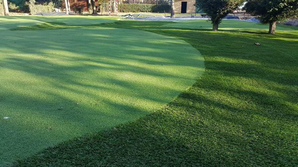 Césped artificial para campo de mini golf