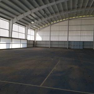 Instalación de pistas de Pádel en Alcuescar