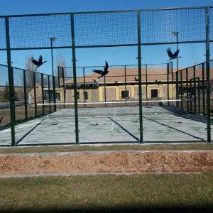 Pistas de Pádel Sta. Tormes, construcción de pistas de pádel en Salamanca