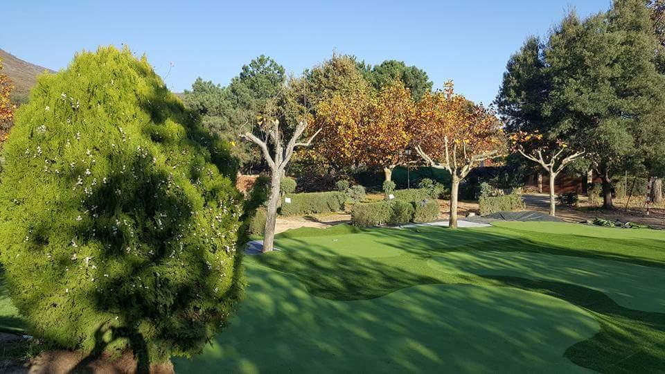 Campo de golf y mini golf
