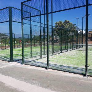 Pistas de Pádel en Cáceres, conbstrucción de pistas de pádel