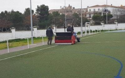 Mmantenimiento de canchas de fútbol, pistas de fútbol, campos de fútbol...