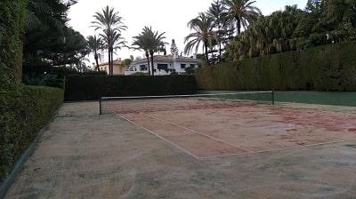 Construcción de pistas de tenis, fabricación e instalación de canchas de tenis, construcción pistas de tenis Madrid