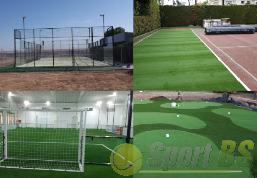 Constructions sportives, centres sportifs, construction d'installations sportives